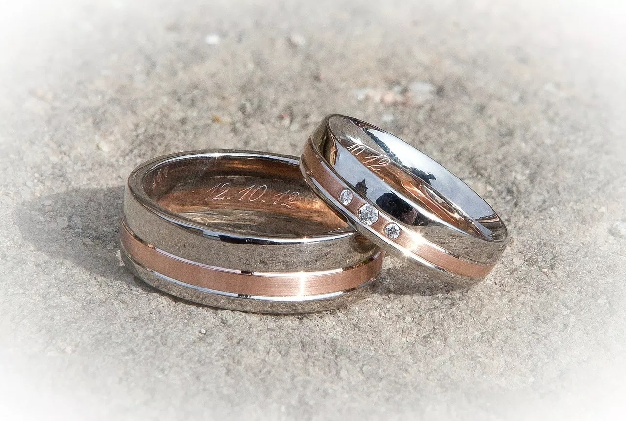 The most popular men's wedding bands