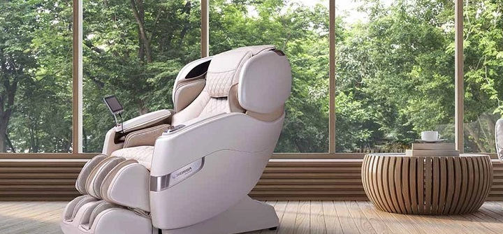This Massage Chair Has Incredible Innovative Features For Your Relaxation