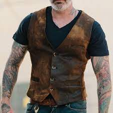 Explode In Fashion: Men's Vest